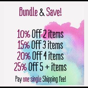 Create a bundle and save $$!